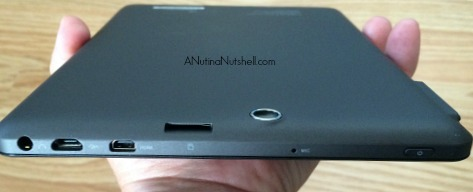 Nextbook 8 tablet port locations