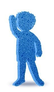 PediaSure sponge boy logo
