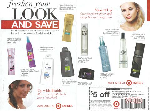 Target Freshen Your Look ad