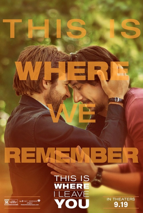 This Is Where I Leave You movie poster - #TIWILY