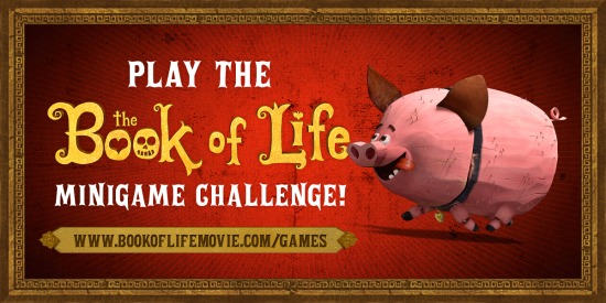 Book of Life Minigame Challenge