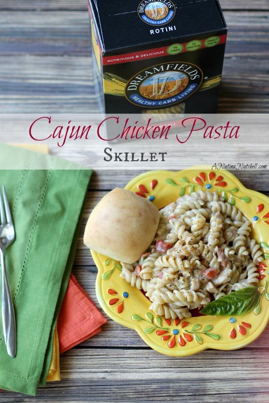 Cajun Chicken Pasta Skillet