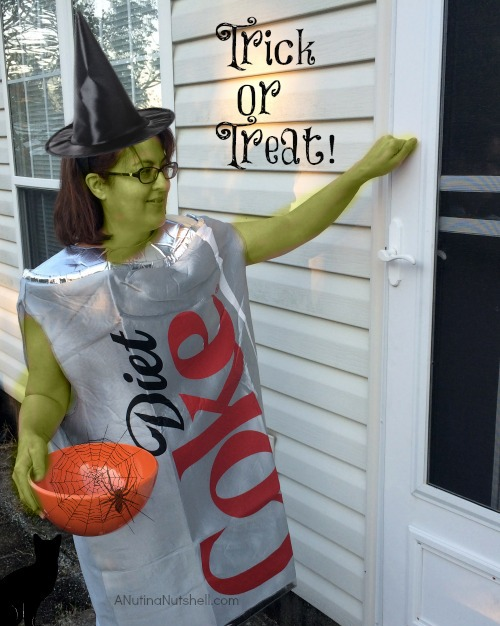 Diet Coke costume