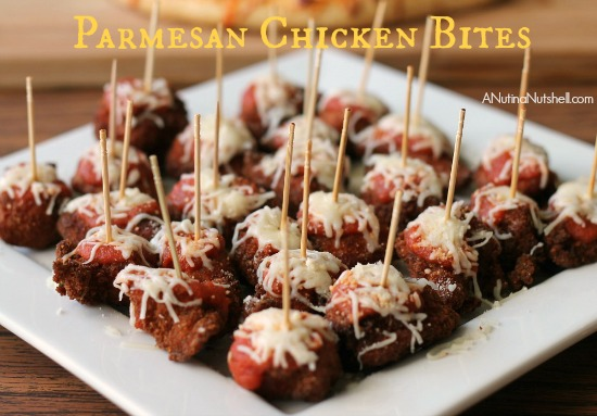 Parmesan Chicken Bites appetizer