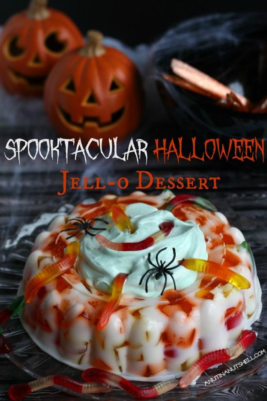 Spooktacular Halloween JELL-O Dessert