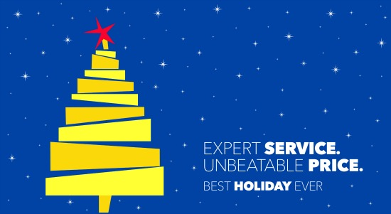 Best Buy Holiday Banner