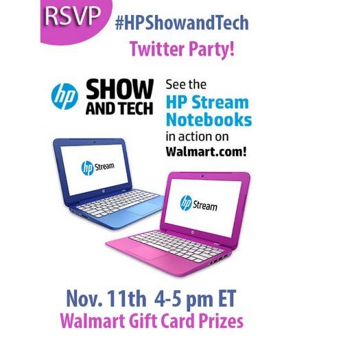 #HPShowandTech Twitter Party