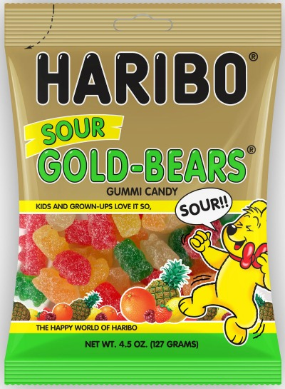 Haribo sour gummi bears