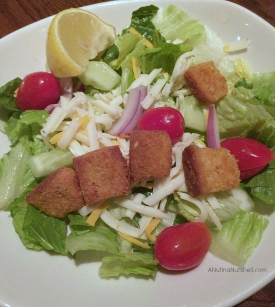 Outback Steakhouse salad