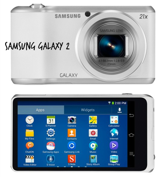 Samsung Galaxy 2 wifi camera