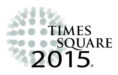 Times Square 2015 logo