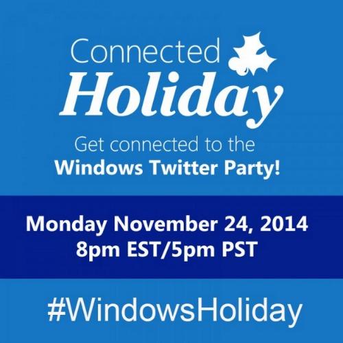 #WindowsHoliday