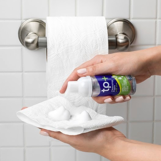 how to use tp+ cleansing foam
