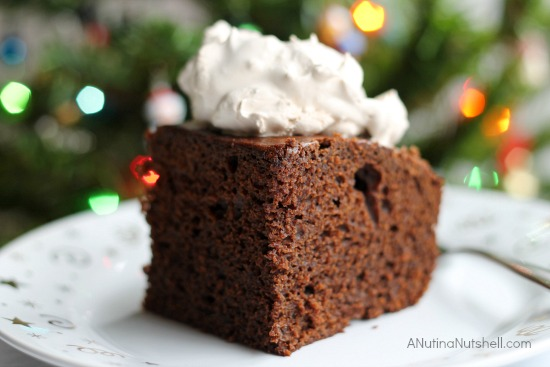 Gingerbread Cake with Splenda