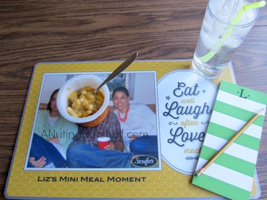 Mini meal moment