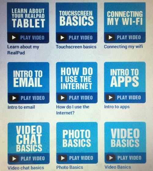 RealPad by AARP - video tutorials