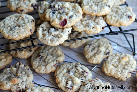 cranberry vanilla chip cookie recipe