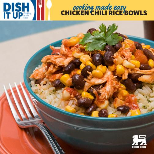 Chicken Chili Rice Bowls