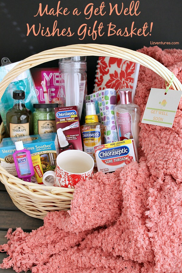 Get Well Wishes - Make a Gift Basket