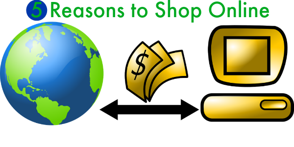 Reasons to shop online