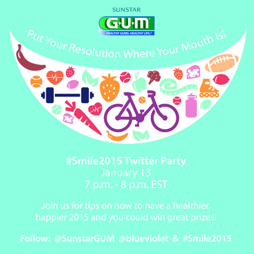 Sunstar Gum Twitter party