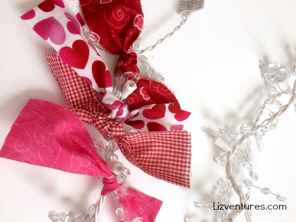 how to make fabric garland