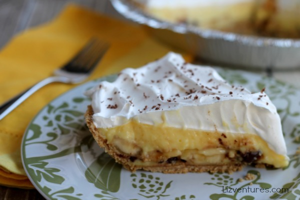 Banana Marshmallow Cream Pie recipe