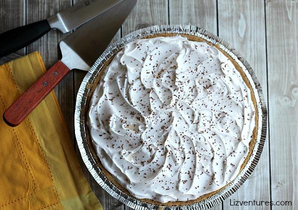 Banana Marshmallow Pie recipe