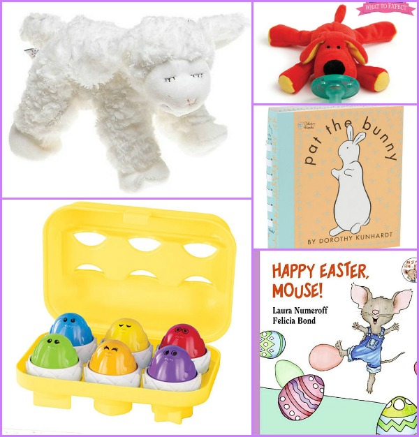 Baby's First Easter basket ideas - books and toys