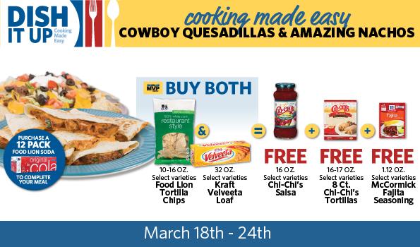 Cowboy Quesadillas Dish It Up Deal