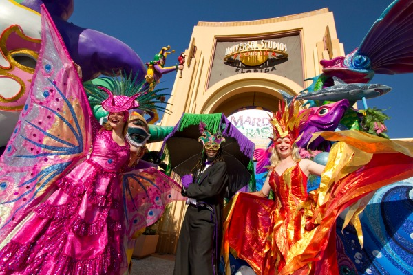 Mardi Gras Universal Studios Orlando Resort