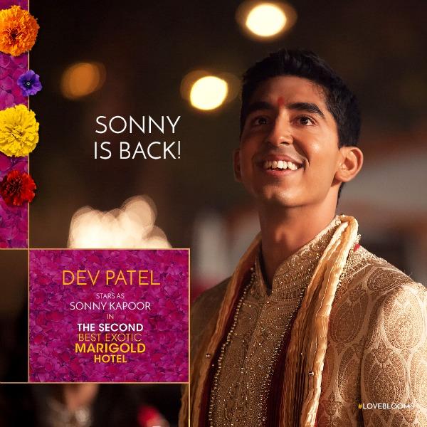 Sonny is back - Dev Patel