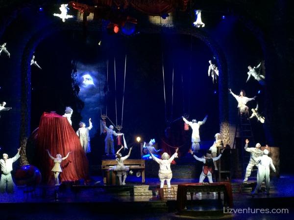 Zarkana - Cirque du Soleil - ARIA