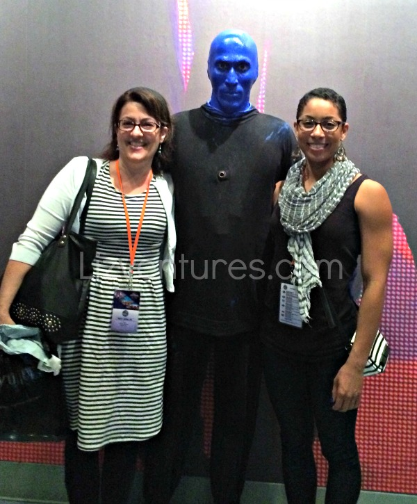 me and DD - Blue Man Group Universal Florida