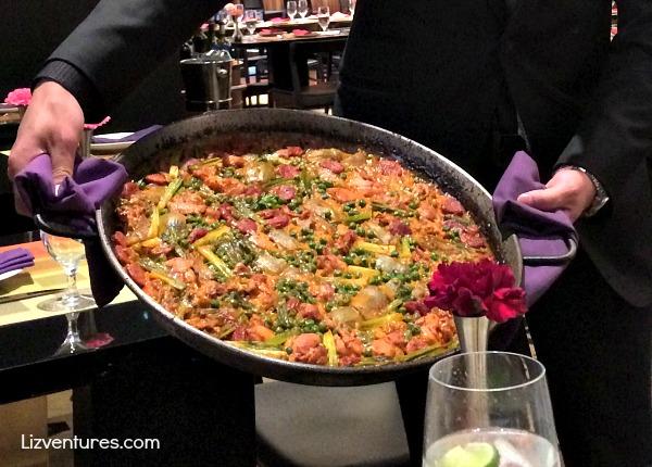 paella at Julian Serrano