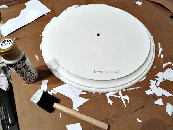 paint clock surface