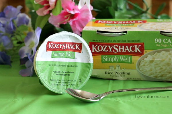 KozyShack Simply Well rice pudding