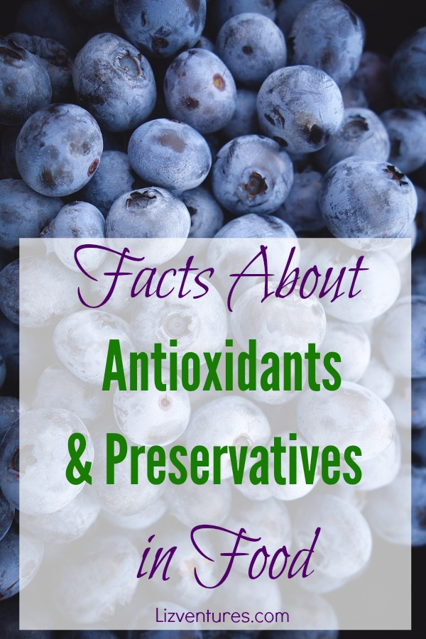 facts about antioxidants and preservatives in food