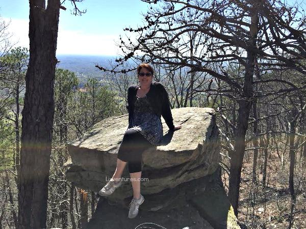 me at Pilot Mountain