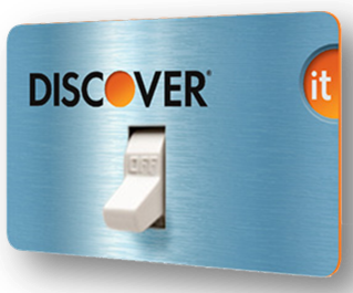 Discover Card On_Off Switch