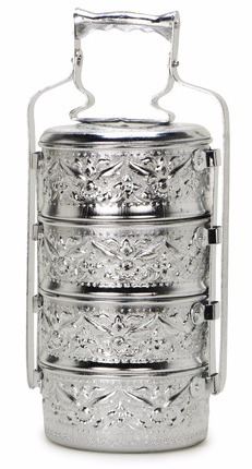 Laurier Blanc - Asian tiffin lunch box