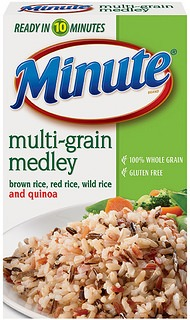 Minute Rice Multi-Grain Medley
