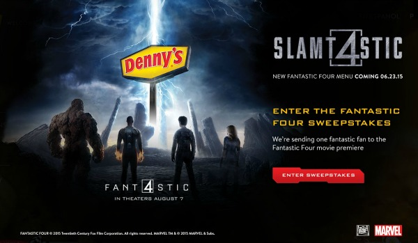 Denny's Fantastic Four Sweepstakes