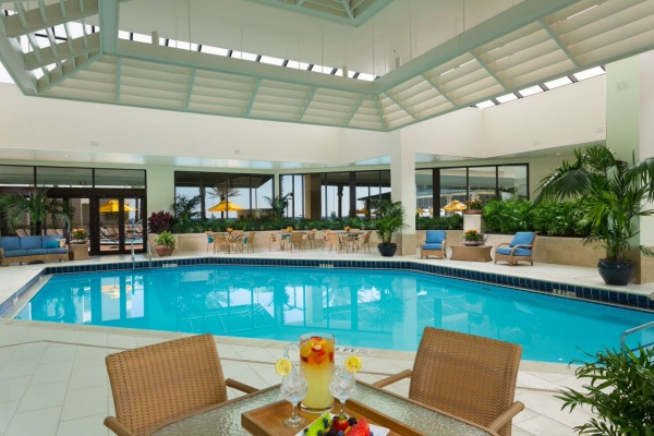 Hilton San Destin South Walton indoor pool