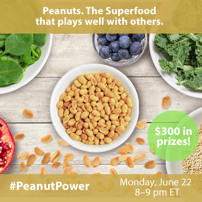 #PeanutPower Twitter Party