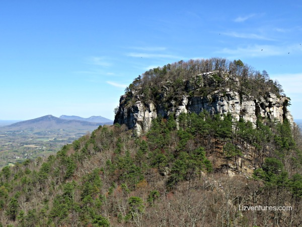 Pilot Mountain North Carolina - Big Pinnacle