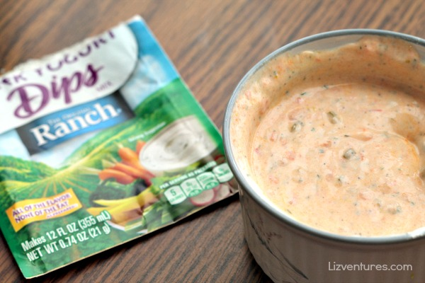 Sweet and Spicy Greek Yogurt Ranch Sauce