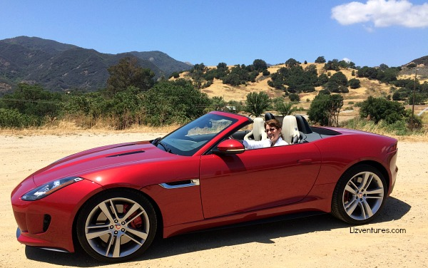 me driving 2015 Jaguar F-TYPE R Coupe - Heels and Wheels 2015