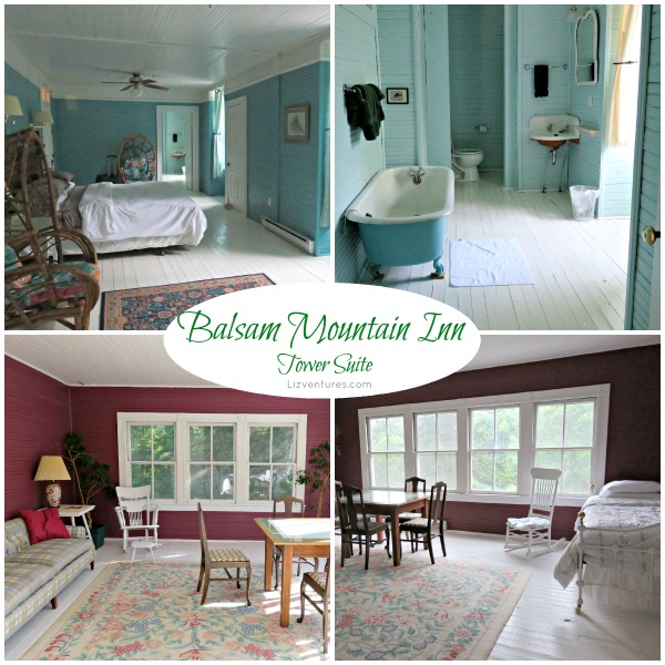 Balsam Mountain Inn -  Tower Suite