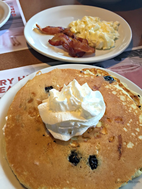 Denny's Blueberry Muffin Pancakes